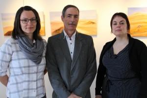 Emilie Giguere, Louis Lachance et Noemie Regnier